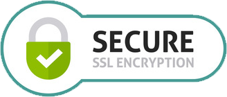 Secured with 256-bit SSL Encryption